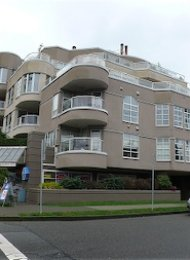 Galleria 1 Bedroom Apartment For Rent in Fairview on Vancouver's Westside. 102 - 1210 West 8th Avenue, Vancouver, BC, Canada.