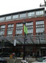 5th Floor Unfurnished Loft For Rent at The Crandall Building in Yaletown, Vancouver. 505 - 1072 Hamilton Street, Vancouver, BC, Canada.