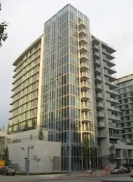 Lotus Unfurnished 2 Bedroom & Den Apartment For Rent in Richmond. 1006 - 5900 Alderbridge Way, Richmond, BC, Canada.