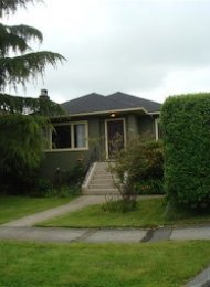 Arbutus 3 Bedroom Unfurnished House Rental on Vancouver's Westside. 2731 West 21st Avenue, Vancouver, BC, Canada.