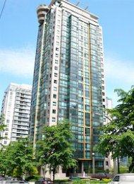 Furnished Luxury Studio For Rent at The Lions in Downtown Vancouver. 305 - 1367 Alberni Street, Vancouver, BC, Canada.