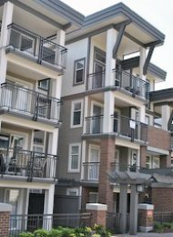 Varley House 1 Bedroom Unfurnished Apartment For Rent in Brentwood. 407 - 4728 Brentwood Drive, Burnaby, BC, Canada.