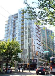 Furnished Luxury 1 Bedroom Apartment For Rent at Alto in Vancouver. 803 - 1205 Howe Street, Vancouver, BC, Canada.