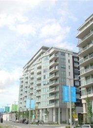 Sails 1 Bedroom Unfurnished Apartment For Rent at the Olympic Village. 712 - 1661 Ontario Street, Vancouver, BC, Canada.