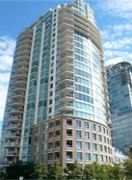 Brighton Unfurnished 2 Bedroom Apartment Rental in Downtown Vancouver. 1401 - 120 Milross Avenue, Vancouver, BC, Canada.