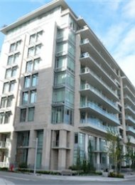 1 Bedroom Unfurnished Apartment Rental at Kayak at the Olympic Village. 407 - 1633 Ontario Street, Vancouver, BC, Canada.