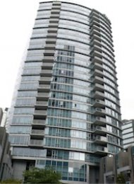 Carina Luxury 2 Bedroom Apartment For Rent in Coal Harbour Vancouver. 1233 West Cordova Street, Vancouver, BC, Canada.