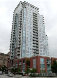 Taylor 1 Bedroom Unfurnished Apartment For Rent in Downtown Vancouver. 2209 - 550 Taylor Street, Vancouver, BC, Canada.