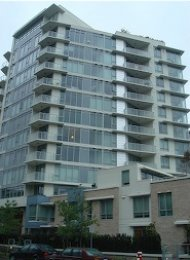 Unfurnished 2 Bedroom Apartment For Rent in Lower Lonsdale at Ventana. 607 - 175 West 2nd Street, North Vancouver, BC, Canada.