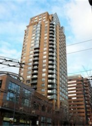Genesis 1 Bedroom Unfurnished Apartment For Rent in Downtown Vancouver. 2004 - 1189 Howe Street, Vancouver, BC, Canada.