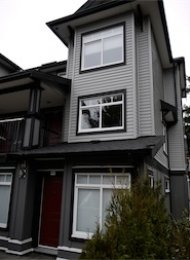 Unfurnished 1 Bedroom Townhouse Rental at Kingsgate Gardens in Burnaby. 64 - 7428 14th Avenue, Burnaby, BC, Canada.