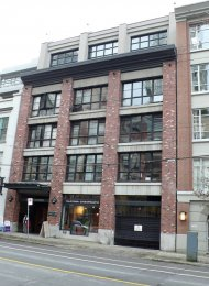 1 Bedroom Unfurnished Loft For Rent at The Grafton in Yaletown Vancouver. 305 - 1238 Homer Street, Vancouver, BC, Canada.