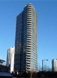 Landmark 33 Unfurnished 1 Bedroom Apartment Rental in Yaletown Vancouver. 3301 - 1009 Expo Blvd, Vancouver, BC, Canada.