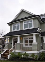 2 Bedroom Unfurnished Townhouse Rental in Mount Pleasant East Vancouver. 2979 Ontario Street, Vancouver, BC, Canada.
