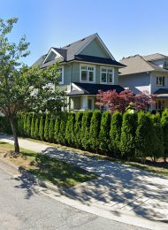3 Level Unfurnished 3 Bedroom Half Duplex For Rent in Mount Pleasant, Westside Vancouver. 2971 Ontario Street, Vancouver, BC, Canada.