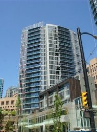 TV Towers 2 Bedroom Unfurnished Apartment Rental in Yaletown Vancouver. 907 - 233 Robson Street, Vancouver, BC, Canada.