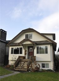 3 Bedroom Unfurnished House For Rent in Dunbar on Vancouver's Westside. 3579 West 18th Avenue, Vancouver, BC, Canada.