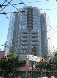 1212 Howe 1 Bed Unfurnished Apartment For Rent in Downtown Vancouver. 1008 - 1212 Howe Street, Vancouver, BC, Canada.