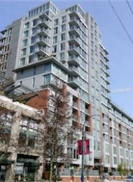 H&H Luxury 2 Bedroom Unfurnished Apartment For Rent in Yaletown. 404 - 1133 Homer Street, Vancouver, BC, Canada.