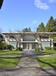 5 Bedroom Luxury House Rental in South Granville Westside Vancouver. 6211 Marguerite Street, Vancouver, BC, Canada.