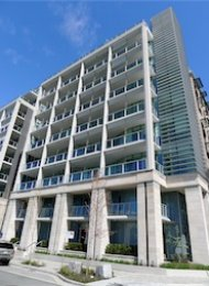 Bridge 1 Bedroom Luxury Apartment For Rent at the Olympic Village. 1610 Columbia Street, Vancouver, BC, Canada.