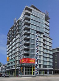 Pinnacle Living 2 Bedroom Unfurnished Apartment For Rent in False Creek. 714 - 1887 Crowe Street, Vancouver, BC, Canada.