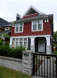 South Cambie 3 Bedroom Luxury Duplex Rental on Vancouver's Westside. 447 West 16th Avenue, Vancouver, BC, Canada.