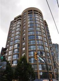 Robinson Tower Unfurnished 2 Bedroom Apartment Rental in Yaletown, Vancouver. 1604 - 488 Helmcken Street, Vancouver, BC, Canada.