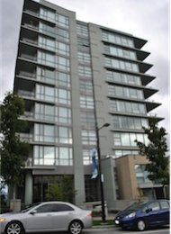 Simon Fraser University Unfurnished 2 Bedroom Apartment Rental at Altaire. 606 - 9222 University Crescent, Burnaby, BC, Canada.
