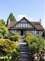 4 Bedroom Unfurnished House Rental in Shaughnessy on Vancouver's Westside. 4238 Pine Crescent, Vancouver, BC, Canada.