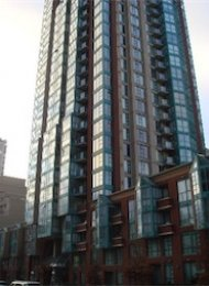 Pinnacle 2 Bedroom Unfurnished Apartment For Rent in Yaletown Vancouver. 2109 - 939 Homer Street, Vancouver, BC, Canada.