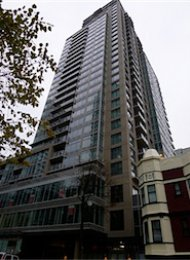 Unfurnished 1 Bedroom Apartment Rental in Yaletown at The Beasley. 808 - 888 Homer Street, Vancouver, BC, Canada.