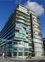 Brooke 2 Bedroom Luxury Apartment Rental at The Olympic Village. 308 - 181 West 1st Avenue, Vancouver, BC, Canada.