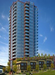Northbank 1 Bedroom Apartment For Rent in New Westminster Quay. 1202 - 125 Columbia Street, New Westminster, BC, Canada.