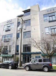 Cannery Row 1 Bedroom Unfurnished Loft For Rent in East Vancouver. 218 - 2001 Wall Street, Vancouver, BC, Canada.