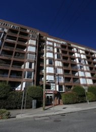 Unfurnished 1 Bed Apartment Rental in Downtown Vancouver at Anchor Point. 103 - 950 Drake Street, Vancouver, BC, Canada.