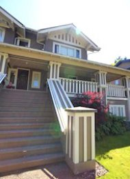 Unfurnished 2 Bedroom Townhouse Rental in Westside Vancouver Fairview. 1086 West 16th Avenue, Vancouver, BC, Canada.