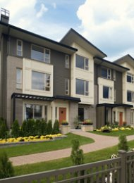 Serenity 3 Bedroom Unfurnished Townhouse Rental at SFU in Burnaby. 72 - 9229 University Crescent, Burnaby, BC, Canada.