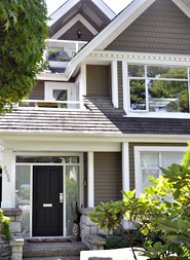 Kits Point 3 Bedroom Unfurnished Duplex Rental on Vancouver's Westside. 2038 Whyte Avenue, Vancouver, BC, Canada.