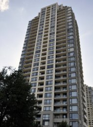 Emerson 1 Bedroom Unfurnished Apartment Rental in Highgate Burnaby. 1501 - 7063 Hall Avenue, Burnaby, BC, Canada.