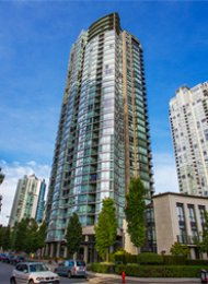 Azura Luxury 2 Bedroom Apartment Rental in Yaletown Vancouver. 3103 - 1438 Richards Street, Vancouver, BC, Canada.