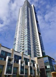 Metroplace 1 Bed Unfurnished Apartment For Rent in Metrotown Burnaby. 2903 - 6461 Telford Avenue, Burnaby, BC, Canada.