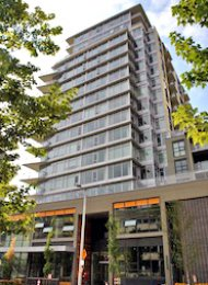 1 Bedroom Apartment Rental at Wall Centre on Vancouver's Westside. 556 - 168 West 1st Avenue, Vancouver, BC, Canada.