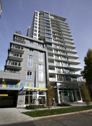 Unfurnished Studio For Rent at Modern in Vancouver's West End. 303 - 1009 Harwood Street, Vancouver, BC, Canada.