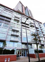 Luxury 1 Bedroom Unfurnished Apartment Rental in East Vancouver at Central. 1719 - 1618 Quebec Street, Vancouver, BC, Canada.
