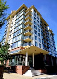 Fullerton 1 Bedroom Unfurnished Apartment For Rent in Richmond. 1007 - 9171 Ferndale Road, Richmond, BC, Canada.