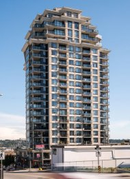 Unfurnished 1 Bedroom Apartment Rental at The Point in New Westminster. 1503 - 610 Victoria Street, New Westminster, BC, Canada.