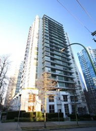 1 Bedroom Apartment For Rent at George in Downtown Vancouver. 805 - 1420 West Georgia Street, Vancouver, BC, Canada.