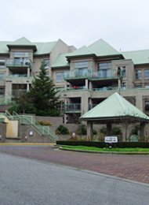Heritage Grand 2 Bedroom Apartment Rental in Newport Village Port Moody. 506 - 301 Maude Road, Port Moody, BC, Canada.
