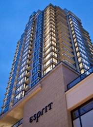 1 Bedroom Unfurnished Apartment For Rent at Esprit in Burnaby. 1206 - 7328 Arcola Street, Burnaby, BC, Canada.